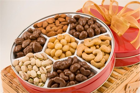Executive Assortment of Nuts Gift Tin