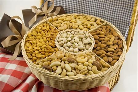 Five Section Nut Basket (Medium)