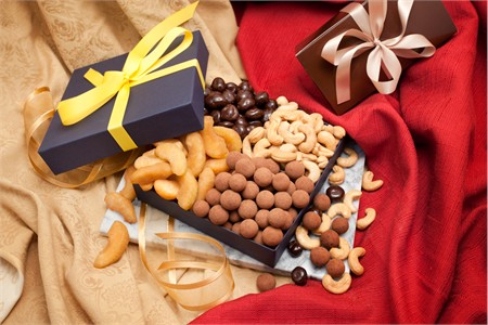Fruit and Nut Gourmet Gift Box