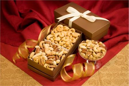 Cashew & Mixed Nuts Gift Box Duo