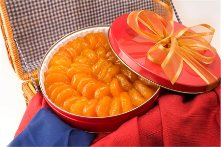 44oz Australian Glazed Apricots Gift Tin