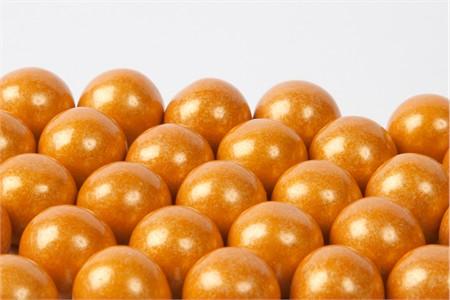 Gold Gourmet Gumballs (4 Pound Bag)