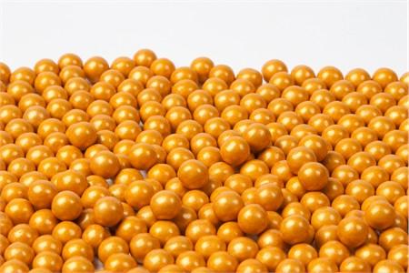 Gold Sixlets (4 Pound Bag)
