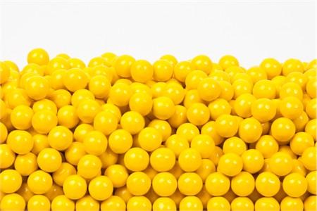 Golden Yellow Sixlets (1 Pound Bag)
