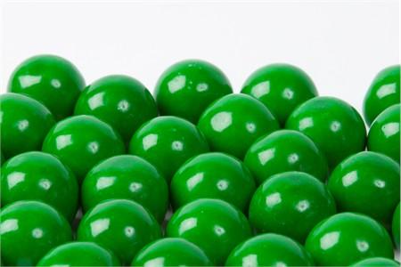 Green Gourmet Gumballs (14 Pound Case)