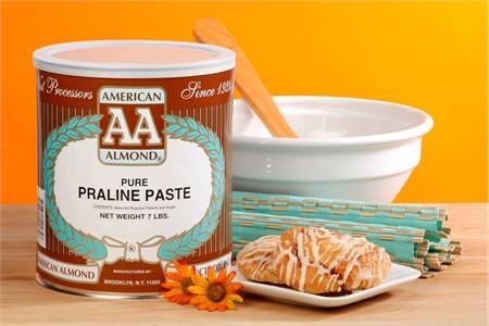 American Almond Hazelnut Praline Paste (7 Pound Can)