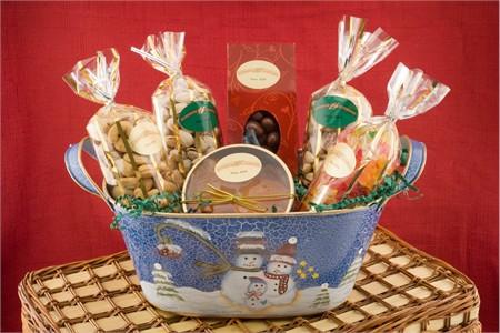 Holiday Gourmet Nut Basket