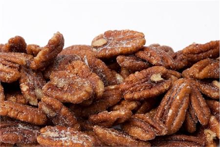 Honey Roasted Pecans (1 Pound Bag)