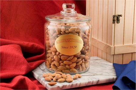 Jumbo California Almonds (6 Pound Glass Jar)