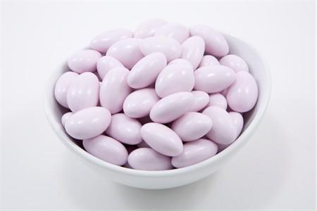 Lavender Jordan Almonds (10 Pound Case)