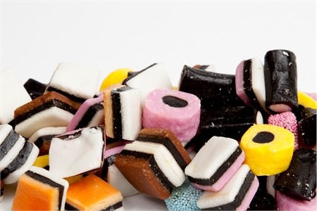 Licorice Allsorts Candy (1 Pound Bag)