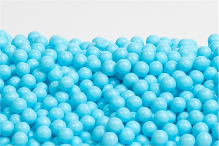 Light Blue Sugar Candy Beads (10 Pound Case)