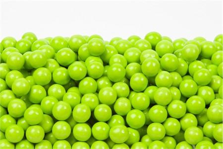 Lime Green Sixlets (1 Pound Bag)