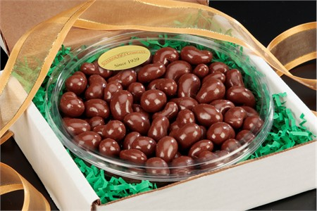 Milk Chocolate Covered Cashews Gourmet Tray