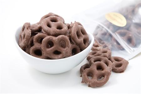 Milk Chocolate Pretzels (3 Pound Bag)