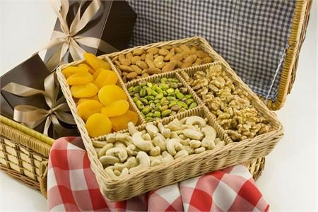 All Natural Nut Gift Basket (Large)