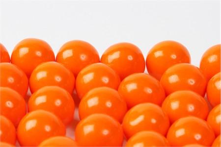 Orange Gourmet Gumballs (14 Pound Case)