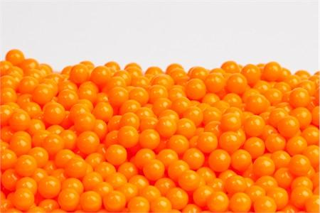 Orange Sugar candy Beads (5 Pound Bag)
