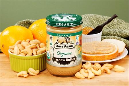 Organic Cashew Butter (1 Pound Jar)
