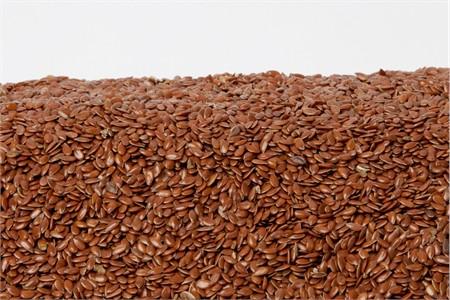 Organic Flax Seeds (1 Pound Bag)