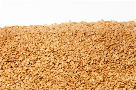 Organic Golden Flax Seeds (25 Pound Case)