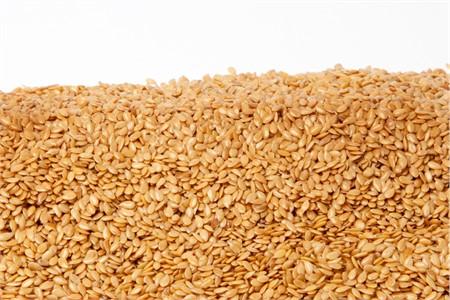 Organic Golden Flax Seeds (4 Pound Bag)