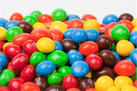 Peanut M&M's Candy (25 Pound Case)