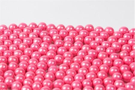 Pearl Bright Pink Sixlets (25 Pound Case)