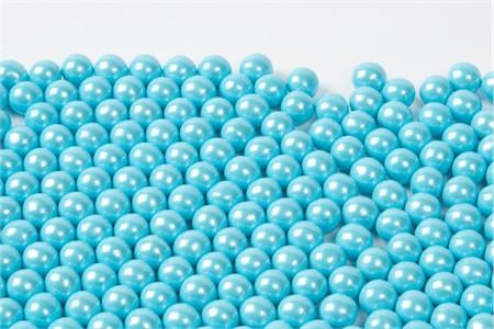 Pearl Powder Blue Sixlets (25 Pound Case)