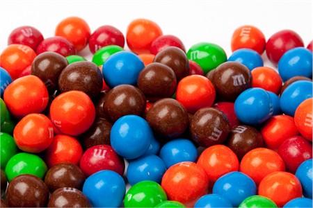 Pretzel M&M's Candy (25 Pound Case)