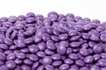 Purple Milk Chocolate M&M's Candy (1 Pound Bag)