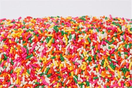 Rainbow Sprinkles (4 Pound Bag)