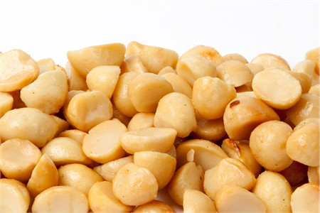 Roasted Macadamias Halves and Pieces (1 Pound Bag)