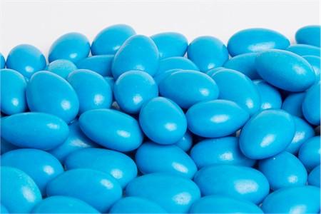 Royal Blue Jordan Almonds (25 Pound Case)
