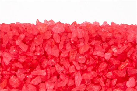 Strawberry Rock Candy Crystals (25 Pound Case)