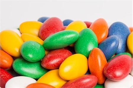 Sugar Free Assorted Jordan Almonds (25 Pound Bag)