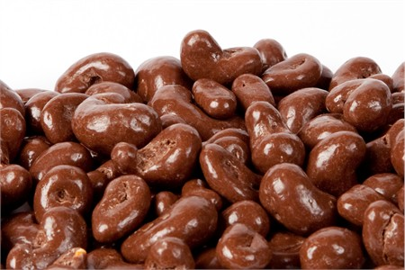 Sugar Free Chocolate Covered Cashews (25 Pound Case)
