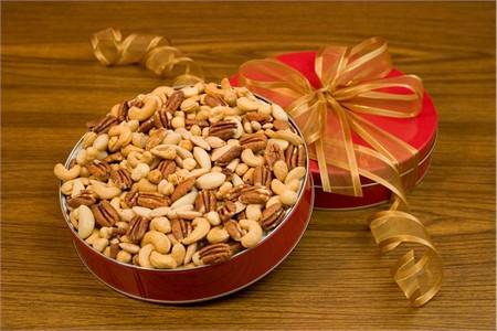 32oz Superior Mixed Nuts Gift Tin