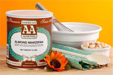 American Almond Almond Marzipan (8 Pound Can)