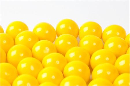 Yellow Gourmet Gumballs (4 Pound Bag)