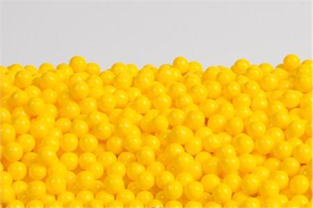 Yellow Sugar Candy Beads (1 Pound Bag)