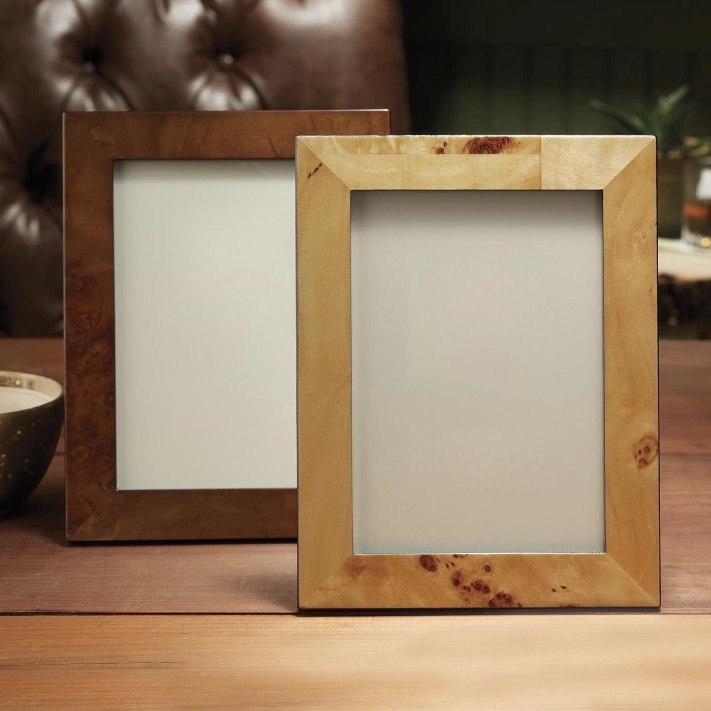 Burl Wood Frames   Sets of 2