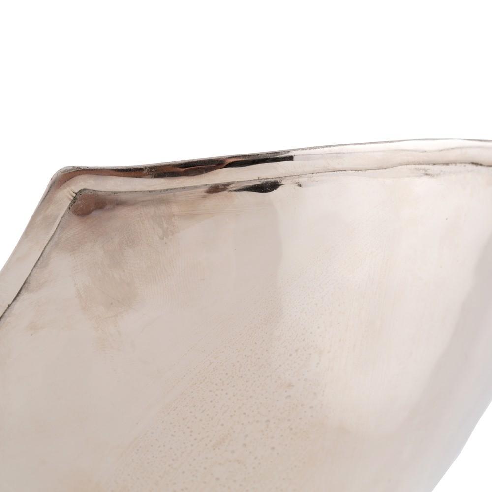 Musa Hammered Bowl | Nickel & Brass