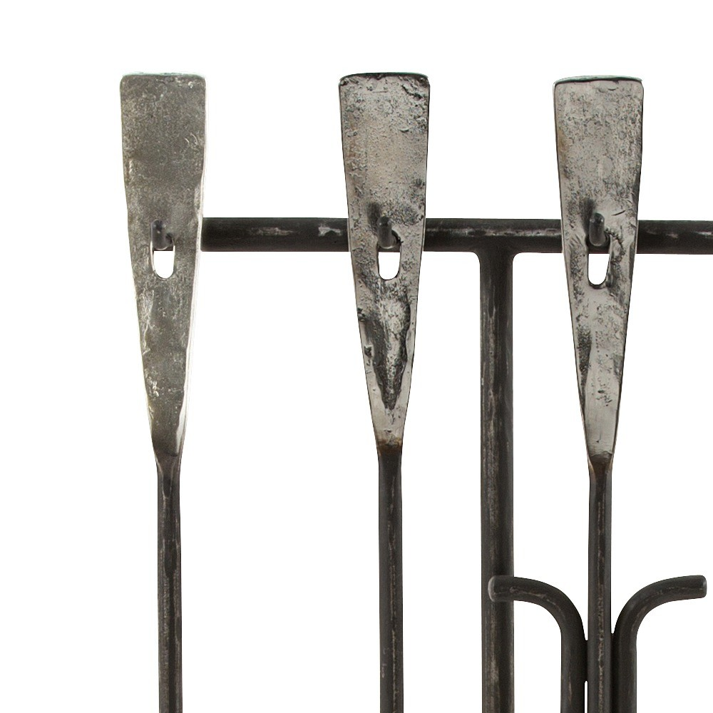 Blacksmith Iron Fireplace Tools