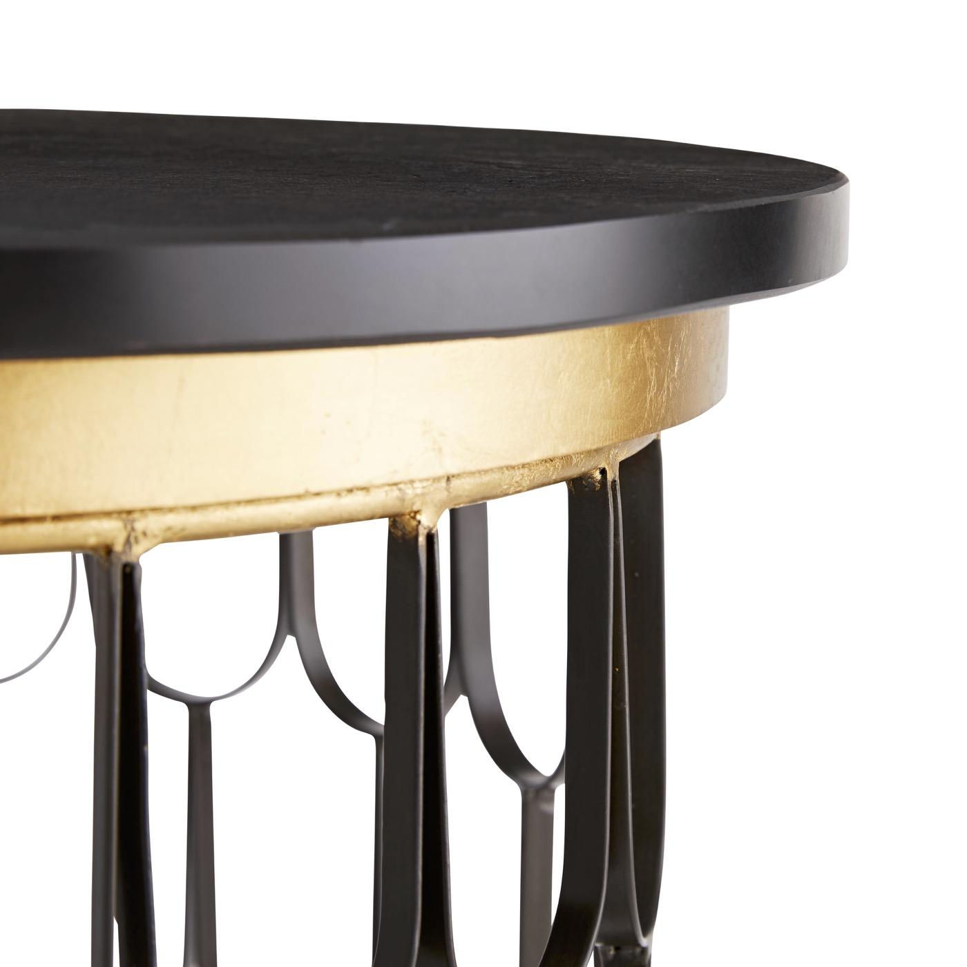 Lafayette Side Table | Black