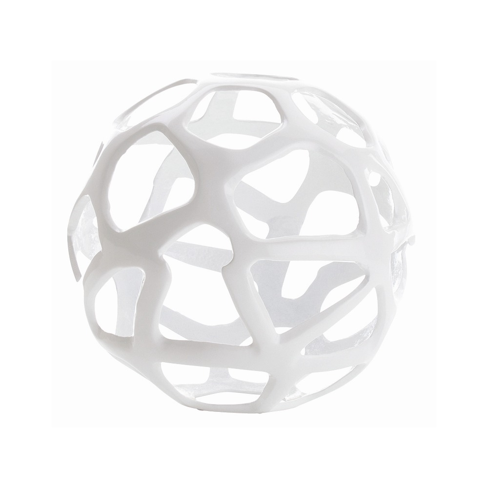 Kam Sphere Sculptures | White
