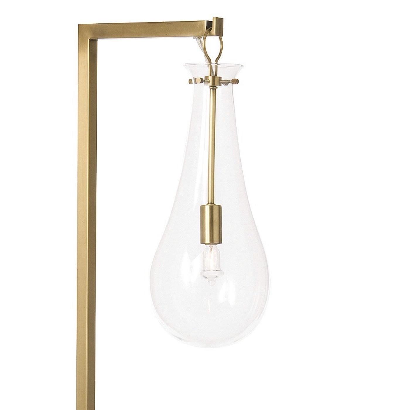 Edison Floor Lamp | Brass