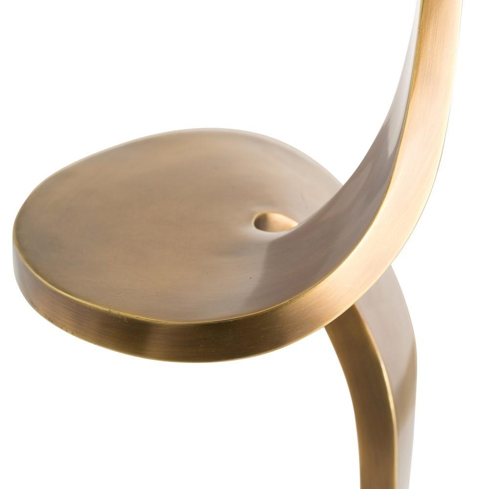 Teddy Floor Lamp | Brass