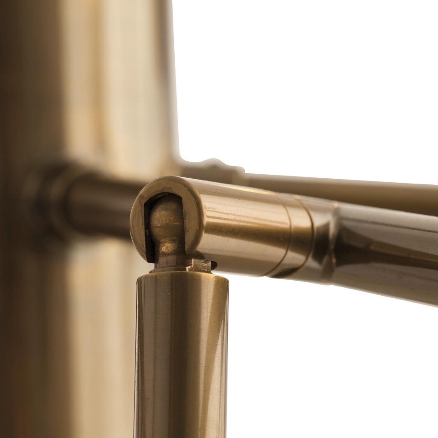 Priya Articulated Chandelier | Brass