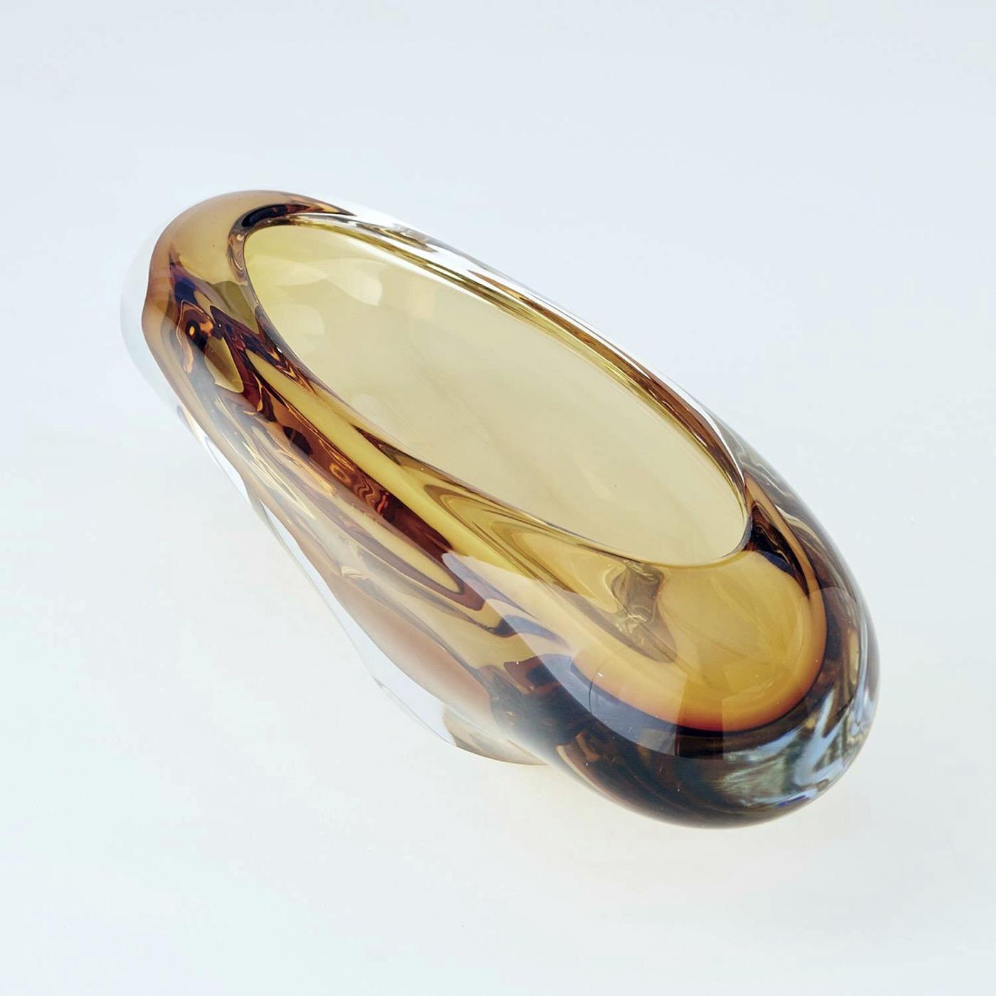 Caruso Glass Bowl | Amber